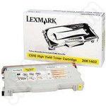 High Capacity Lexmark 20K1402 Yellow Toner
