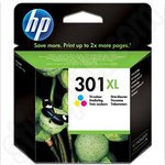 High Capacity HP 301XL TriColour Ink Cartridge
