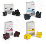 Multipack of Original Xerox ColorQube Solid Inks (4 Blacks)