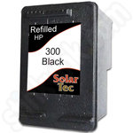 Refilled HP 300 XL Black ink cartridge