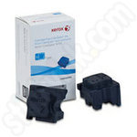 2-pack of Xerox 108R00995 Cyan Solid Ink Sticks