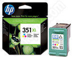 High Capacity HP 351XL TriColour ink cartridge