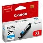 High Capacity Canon CLi-571XL Cyan Ink Cartridge