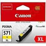 High Capacity Canon CLi-571XL Yellow Ink Cartridge