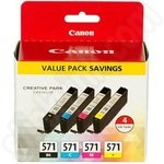 Multipack Canon CLi-571 Ink Cartridges
