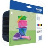 Multipack of Brother LC221 Ink Cartridges