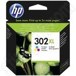 High Capacity HP 302XL Tri-colour Ink Cartridge