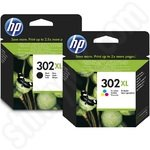 Multipack of High Capacity HP 302XL Ink Cartridges