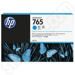 HP 765 Cyan Ink cartridge