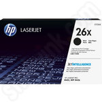 High Capacity HP 26X Black Toner Cartridge