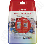 Canon CLI-521 Ink Value Pack + Photo Paper