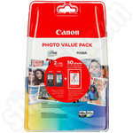 Canon PG-540XL & CL-541XL Ink Value Pack + Photo Paper