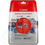 Canon CLI-551 Ink Pack + Photo Paper
