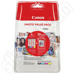 Canon CLi-571 Ink Value Pack + Photo Paper