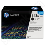 Original HP 643A Black Toner Cartridge