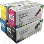 Remanufactured Multipack of High Capacity Dell E525W Toner Cartridges