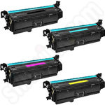 Multipack of Compatible High Capacity HP 201X Toner Cartridges