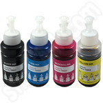 Compatible Multipack of Epson T664 Ink Bottles