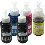 Compatible Multipack of Epson T664 Ink Bottles with 2 Black Inks