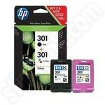Twinpack of HP 301 Ink Cartridges