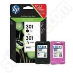 Twinpack of HP 301 Ink Cartridges