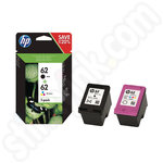 Twinpack of HP 62 Ink Cartridges