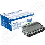 High Capacity Brother TN3480 Black Toner Cartridge