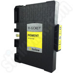 Compatible Ricoh GC-41Y Yellow Gel Ink Cartridge