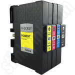 Compatible Multipack of Ricoh GC-41 Gel Ink Cartridges