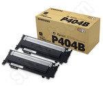 Twin Pack of Samsung CLT-P406B Black Toner Cartridges