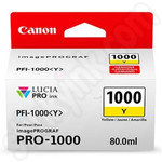 Canon PFI-1000Y Yellow Ink Cartridge