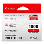 Canon PFI-1000R Red Ink Cartridge