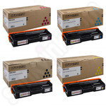 Multipack of Ricoh 40754X Toner Cartridges