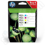 Multipack of High Capacity HP 953XL Ink Cartridges
