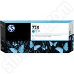 Extra High Capacity HP 728 Cyan Ink Cartridge