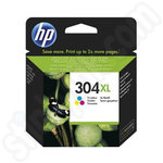 High Capacity HP 304XL Tri-Colour Ink Cartridge