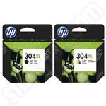 Twinpack of High Capacity HP 304XL Ink Cartridges