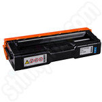 Remanufactured Ricoh 407544 Cyan Toner Cartridge