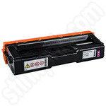 Remanufactured Ricoh 407545 Magenta Toner Cartridge
