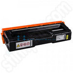 Remanufactured Ricoh 407546 Yellow Toner Cartridge