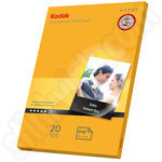 Kodak 6x4 Ultra Premium Glossy Photo Paper - 20 Sheets