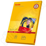 Kodak A4 Premium Glossy Photo Paper - 20 Sheets