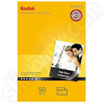 Kodak 6x4 Ultra Premium Glossy Photo Paper - 50 Sheets
