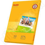 Kodak Ultra Glossy 10x15 Photo Paper - 50 Sheets