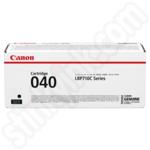 Canon 040 Black Toner Cartridge