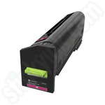 Extra High Capacity Lexmark 72K2XM0 Magenta Toner Cartridge
