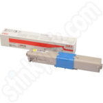 High Capacity Oki 46508709 Yellow Toner Cartridge