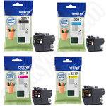 Multipack of Brother LC3217 Ink Cartridges