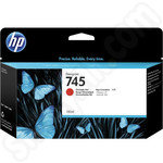 HP 745 Chromatic Red Ink Cartridge