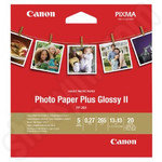 Canon Photo Paper Plus Glossy 5x5 Inch Photo Paper - 20 Sheets